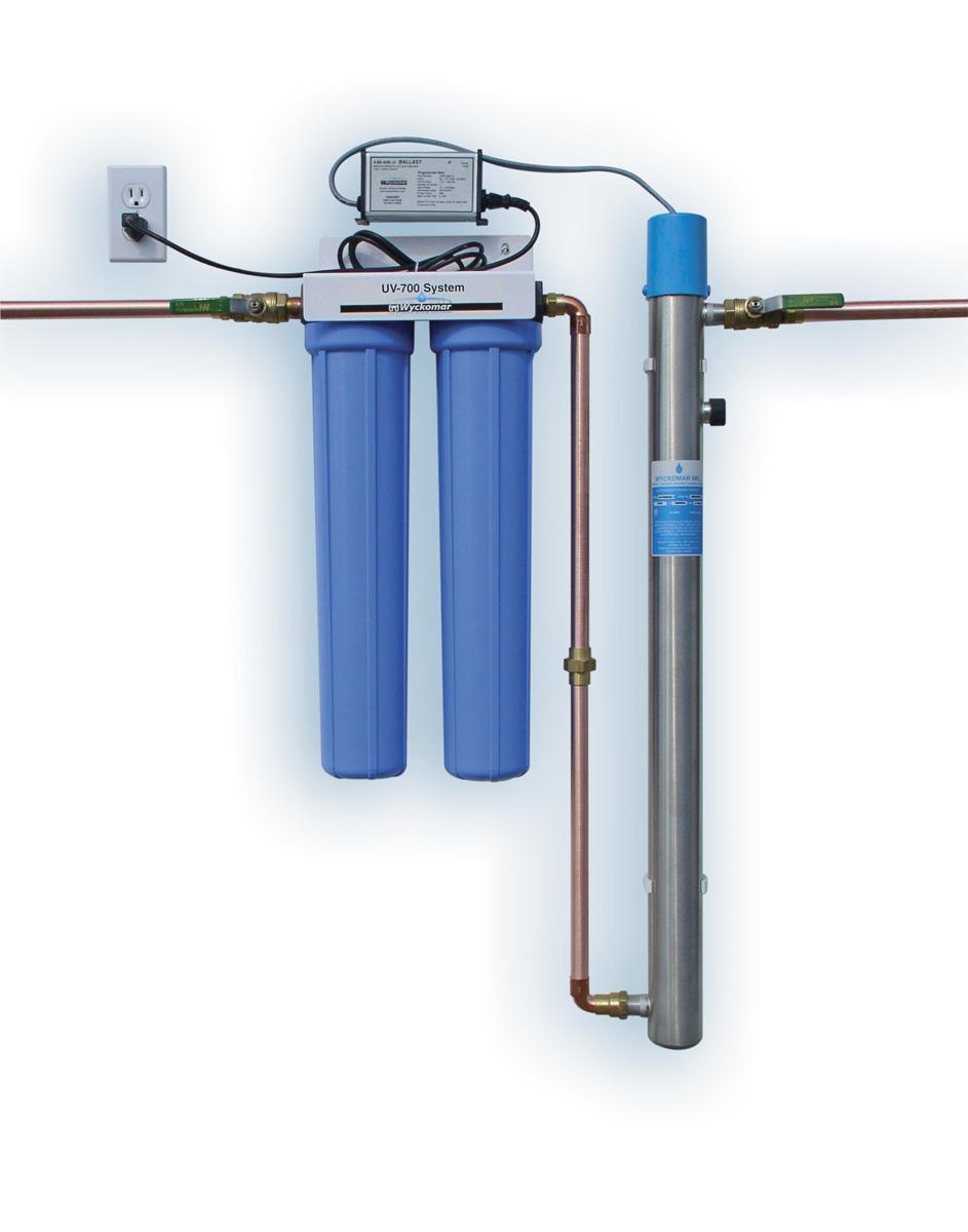 Whole House UV Water Filter and Purification System, Water
